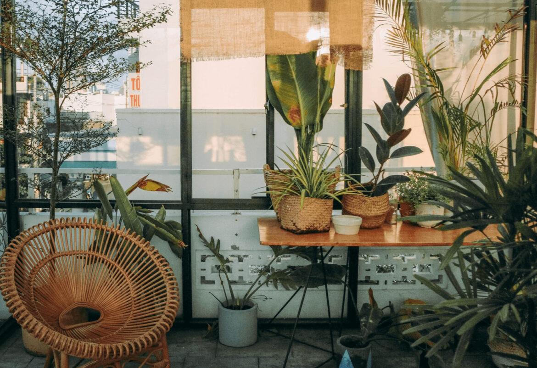 planten op balkon